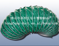 PVC flame-retardant ventilation pipe, professional Marine, mine ventilation and exhaust pipe