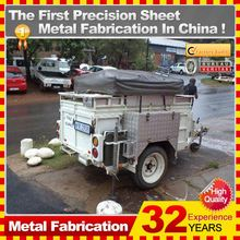 2014 good sell deluxe two horse floats china box trailer camping trailer,China direct factory