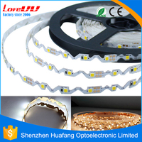 Free sample S Shape bendable 2835 60leds 72leds IP65 12V LED strip