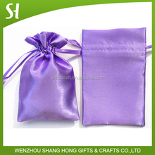 Silk Satin Gift Bag/Satin Shoe Drawstring Bag/Satin Dust Bag