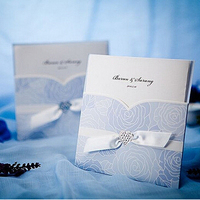 Top quality and cheap wedding invitation card of sample