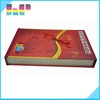 Good quality cheap book print with magnetic closure box
