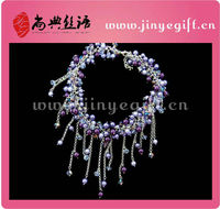 Sundysh Latest Handmade Beads Necklace Costume Imitation Jewellery
