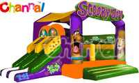 Scooby Doo Interative combo, inflatable bouncer combo