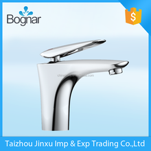China product sanitary ware brass polished single handle basin faucet for water