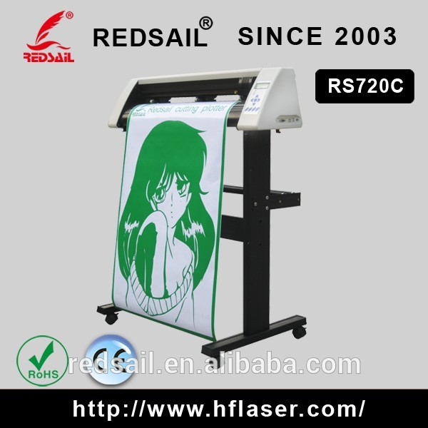 Redsail Cutting Plotter RS720C/ China cutting plotter software