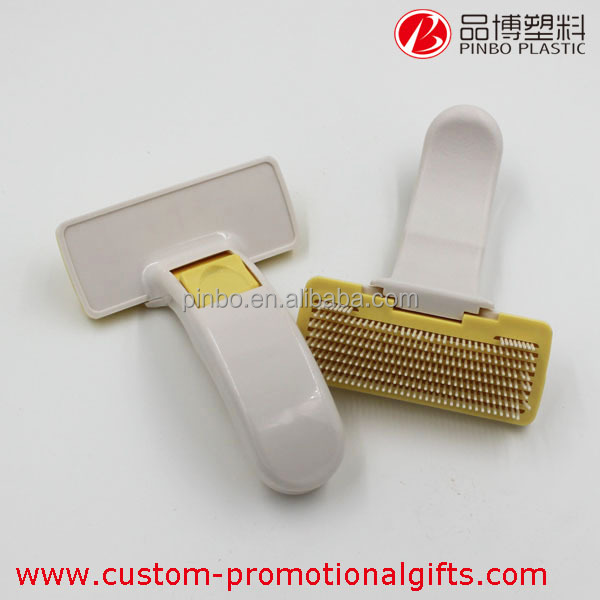 Pet Brush with Different Color hot sale,Cute Plastic Pet Grooming Brush