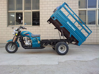 Double Rear Wheels 150CC 5 Wheel Motor Cargo Trikes Manufacture