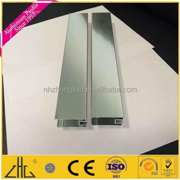 Grossiste profil aluminium rectangulaire acheter les - Aluminium poli miroir ...