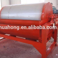 HUAHONG dry and wet rotary magnetic separator for manganese ore processing