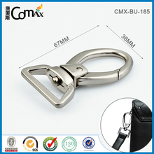 Handbag custom metal snap buckle hook for bag