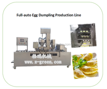 Egg dumpling wrapper making machine