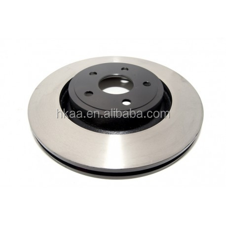 china precision cnc machining aluminum front brake rotor brake disc rotor from OEM factory