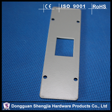 OEM stamping <strong>hole</strong> anodized aluminum parts fabrication