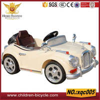 Wholesale ride on battery operated kids baby car,baby remote control ride on car toy for children