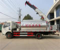 Road construction machinery 6T bitumen distributor sprayer truck