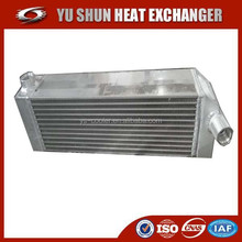 china supplier high performance aluminum brazed plate radiator cover