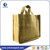 customize multi-bottles jute wine bag for tote with comparment inside