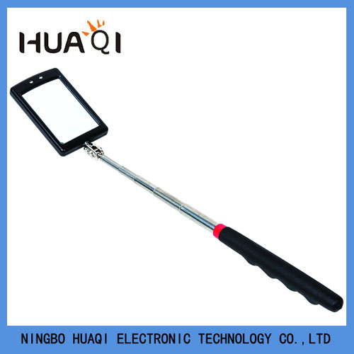 Telescoping Lighted Inspection Mirror with 2 LED