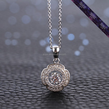 JP0535- Silver gemstone jewelry silver necklace 925 silver pendant jewelry