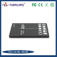 BL-44JN battery for LG L3/L5 mobile battery