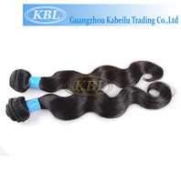 AAAAA grade Double Drawn body wave new style crochet braids with human hair