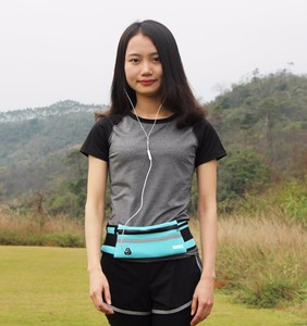 2017 Hot-sale New Unisex Gym Fitness Sports Jogging Running Cycling Elastic Waist Bag Pack