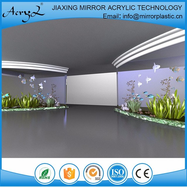OEM/ODM China Factory acrylic fish tank with built in filter