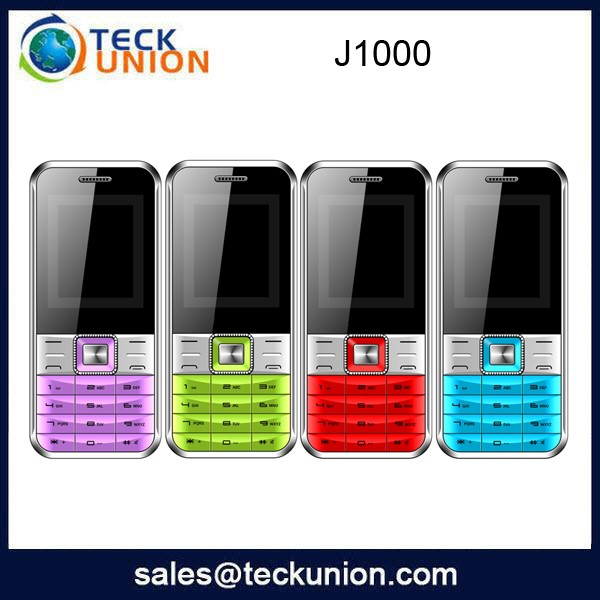 J1000 1.8inch small basic function mobile handphone with whatsapp facebook