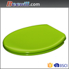 Colorful polished quick release toilet seat with soft close damper