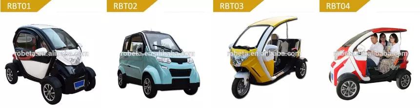 2019 Prix usine 3 Roues Voiture Électrique/Cyclomoteur Voiture/tricycle électrique