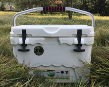 20L insulation plastic customize Rotomolded cooler box white, portable food box for storaging food