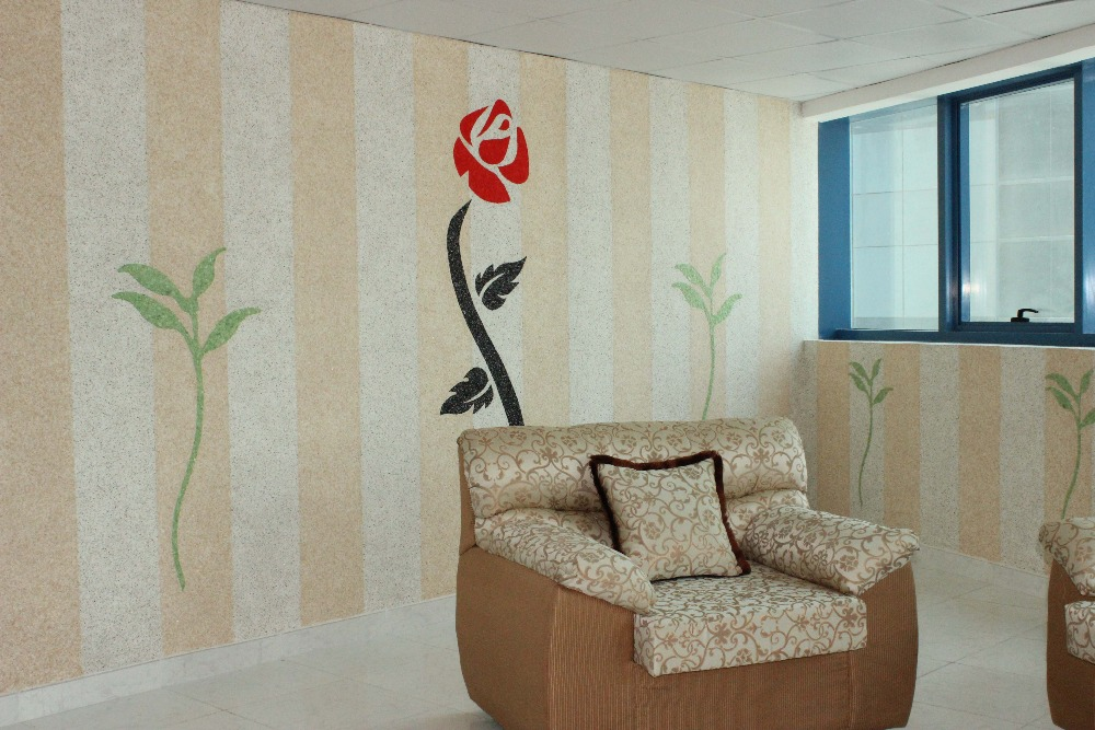 YISNENI high quality fiber decor cotton wall coating