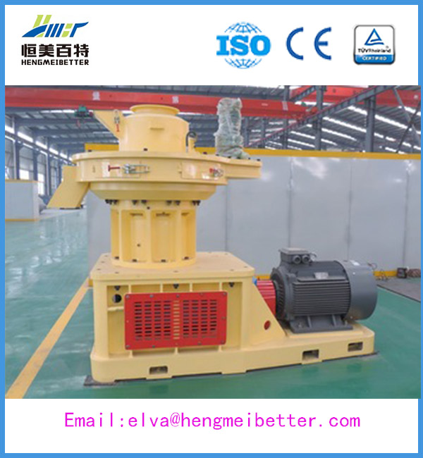 cottonseed hull compress wood pellet mill with CE certificate