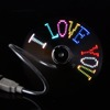 New Flexible LED Flash USB Fan