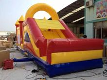 school giant inflatable pool slide for adult/inflatable slide for pool with high quality