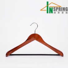 2016 assessed supplier wholesale lotus wooden suit coat hanger