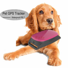 Mini GPS Tracker Dog Pets Cats Waterproof Real Time Locator for PET Dog Cat Tracking +Collar ET20