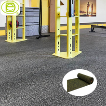 HOT sale 8mm anti slip gym rubber roll fitness rubber flooring mat