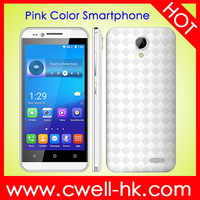 4.5 inch cell phone mobile quad core dual sim 4GB ROM phone with GPS wifi