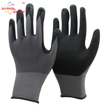 Automotive Assembly Waterproof Mechanics Nitrile Gloves