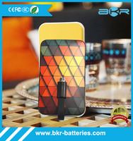 Any Logo Customized Portable Power Bank 5000 mah/Portable Battery Charger/ dual USB Mobile Power Bank