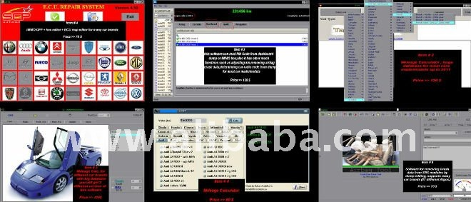 mileage adjusting and IMMO programming software