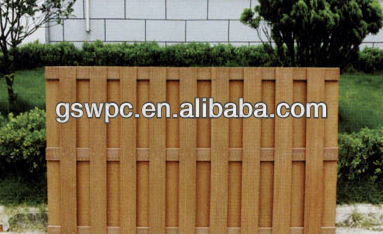 House garden decking natural wpc fence railing