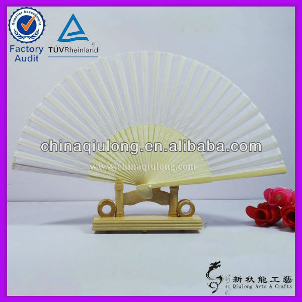 Cloth Foldable Hand Fan Wholesale