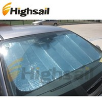 front wind advertising car sun shade