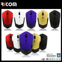 Hot Sale Colorful 2.4GHz wireless mouse,promotional wireless mouse,mini cheap wireless mouse------MW8012---Shenzhen Ricom