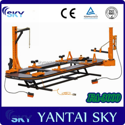 Hydraulic repair bench frame machine accident damaged cars