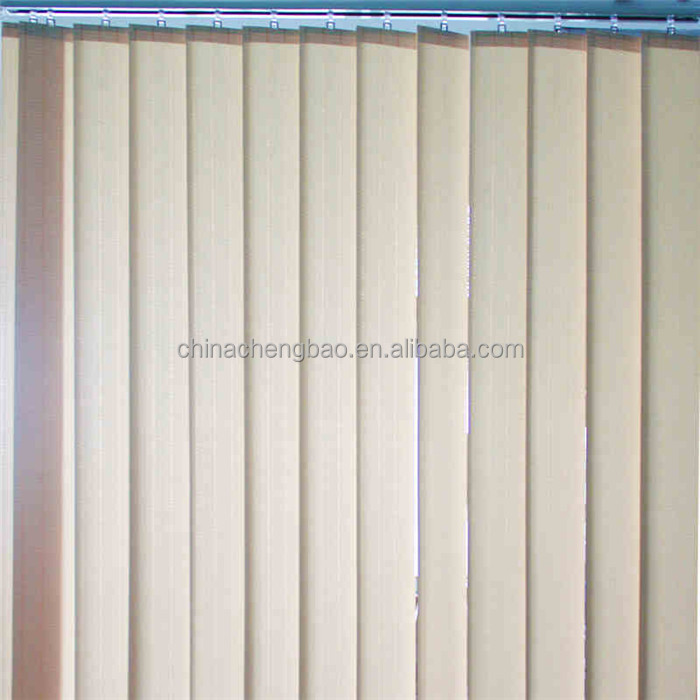 low price PVC vertical blind blackout fabric rolls