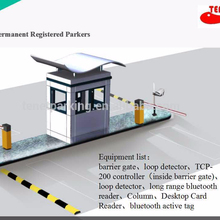 TCP smart parking management system